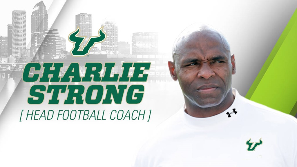 charlie strong named head coach of usf football university of