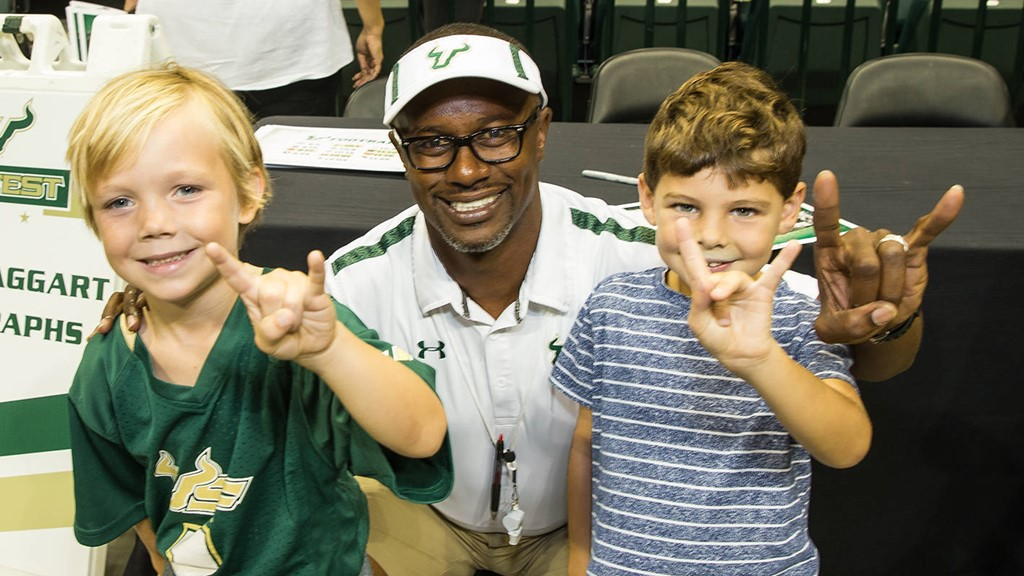 Bulls Kick Off Season With Supporters At Fan Fest Usf Athletics