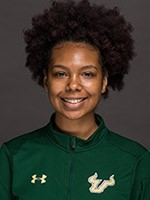 imani carmouche track field usf athletics