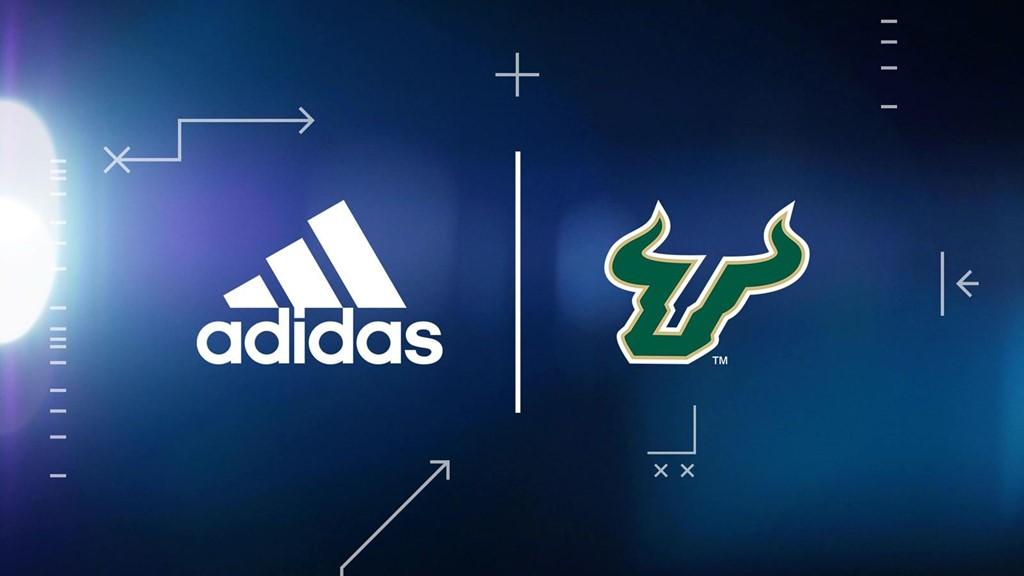 Athletics Announces Partnership With Adidas Usf Athletics