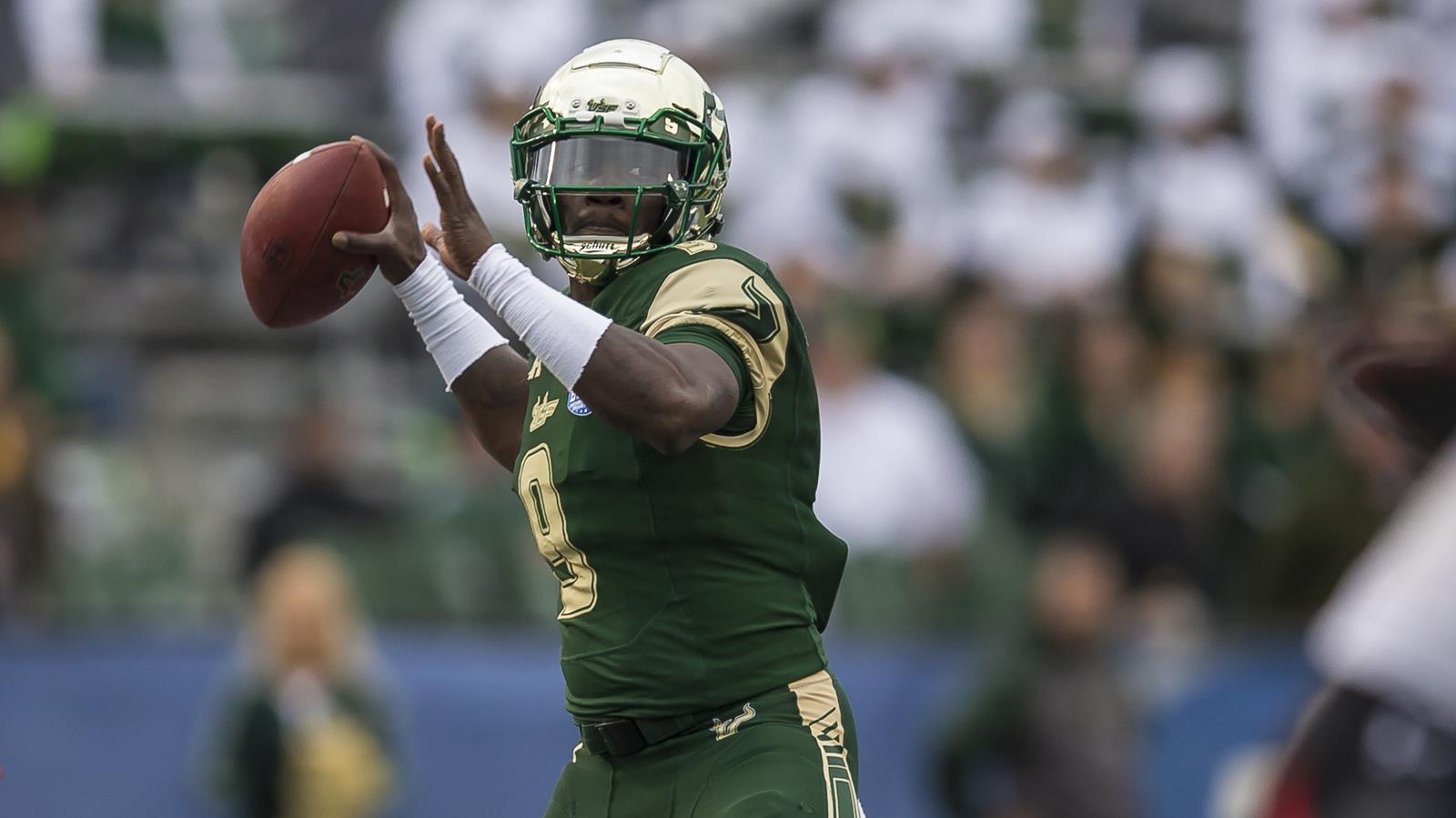 Flowers, Price and Eatmon Selected in XFL Draft , USF Athletics