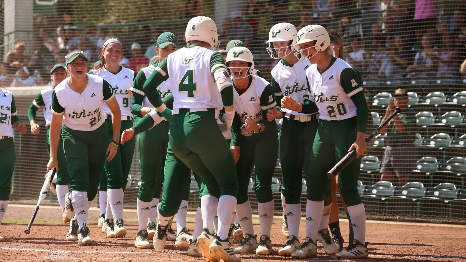 Bruni Powers Bulls to Victory with First Career Home Run - USF Athletics