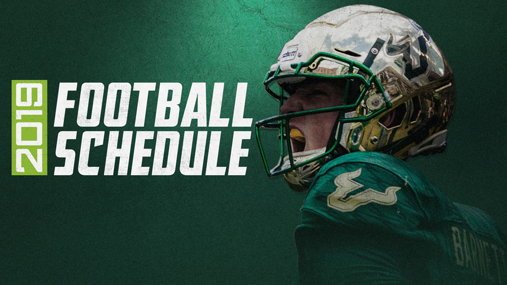 Usf Schedule 2019 2019 Football Schedule Announced   USF Athletics